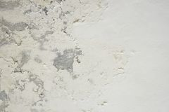 Excessive moisture can cause mold and peeling paint wall such as rainwater leaks or water leaks. Empty right with copy space for text stock photo