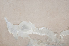 Excessive moisture can cause mold and peeling paint wall such as rainwater leaks or water leaks.  stock photo
