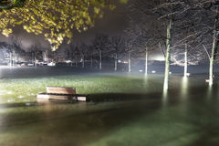 Excesso de Maggiore do lago em Ispra, Varese Imagem de Stock