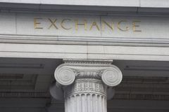 Exchange Column Stock Photos