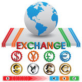 Exchange and Currency Vector Stock Photos