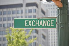 Exchange Economic Based System Royalty Free Stock Photography