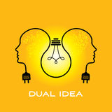 Exchange ideas concepts Stock Images
