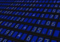 Exchange Index royalty free illustration