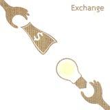 Exchange Stock Image