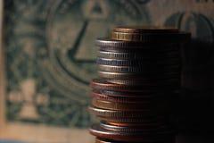 Exchange rate economics Stock Photos