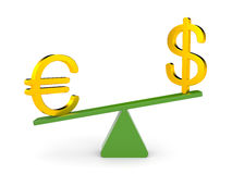 Exchange Rates Stock Images