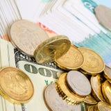 Exchange rates. Stock Photos