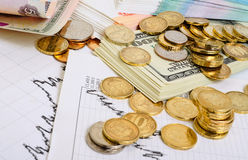 Exchange Rates. Stock Photo