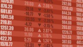 Exchange screen. Financial background. 4K stock video