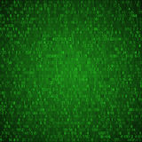 Exchange trades green background. Binary code. Hacker concept in Royalty Free Stock Photography