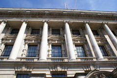 The Exchequer. The Treasury. HM Treasury in London, England Royalty Free Stock Photography