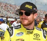 Excitador Brian Vickers de NASCAR fotos de stock