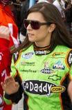 Excitador Danica Patrick de NASCAR Fotografia de Stock Royalty Free