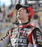 Excitador Jeff Gordon de NASCAR na pista da vitória foto de stock royalty free
