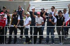 Excitadores F1 Imagens de Stock