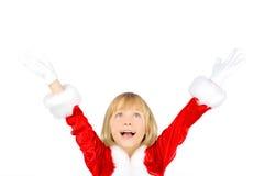Excitamento do Natal Fotografia de Stock