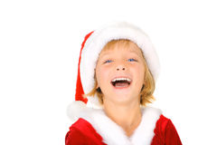 Excitamento do Natal Fotos de Stock Royalty Free