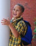 Excitation d'école photos libres de droits