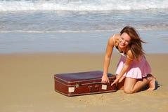 Excitation de vacances Photo stock