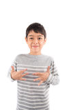 EXCITE ASL Sign language communication. EXCITE ASL Sign language on white background Royalty Free Stock Images