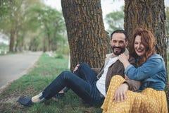 Excited пожененные пары ослабляя в природе Стоковое Изображение RF