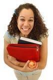 excited студент Стоковая Фотография