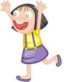 excited девушка бесплатная иллюстрация