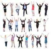 Фото excited людей Стоковые Изображения RF