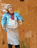Excited шарж шеф-повара Стоковые Фото