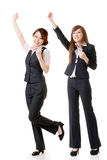 Excited business women Stock Images