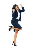 Excited Businesswoman Stock Images