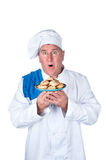 Excited chef Stock Photo