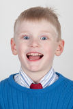Excited child Royalty Free Stock Image