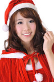 Excited Christmas girl Royalty Free Stock Image