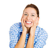 Excited Royalty Free Stock Photo