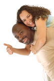 Excited couple Royalty Free Stock Photography