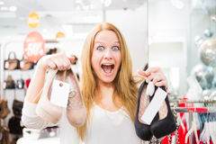 Excited Customer Royalty Free Stock Photography