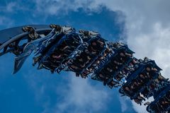 Free Excited Faces Of People Having Fun Manta Ray Rollercoaster At Seaworld 5 Royalty Free Stock Photo - 152829455