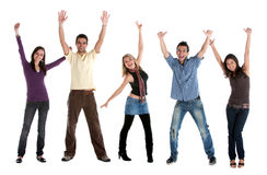 Excited friends Stock Photography