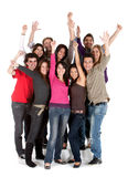 Excited friends Royalty Free Stock Image