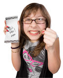 Excited Girl Stock Images