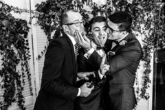 Free Excited Groom Stock Image - 154721351