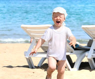 Excited kid Royalty Free Stock Photography