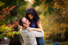 Excited Man and Woman Royalty Free Stock Photography