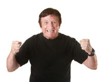 Excited Mature Man Royalty Free Stock Image