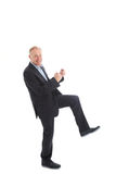 Excited motivated businessman Royalty Free Stock Photo