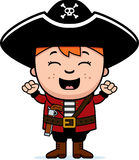 Excited Pirate Boy Stock Photo