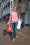 Excited Shopper Royalty Free Stock Photos