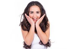 Excited smile Royalty Free Stock Images